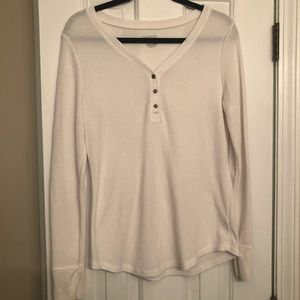 Cream Long Sleeve Thermal